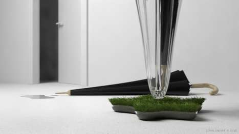 Grass-Growing Umbrella Stands