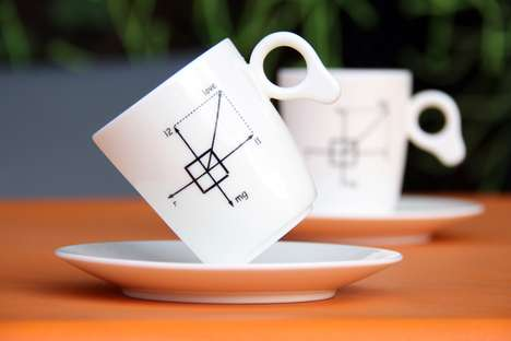 Weightless Coffee Mugs - The Zero Gravity Cup Makes Drinking Your Morning Joe Super Geeky