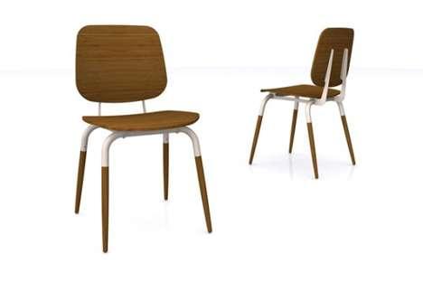 Minimalist Bamboo Seating