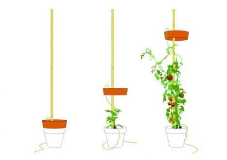 Planter Floor Lamps