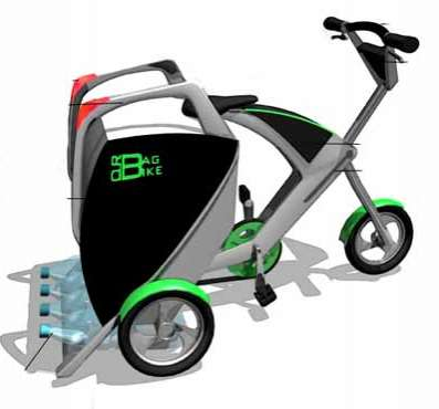 Convertible Storage Scooters