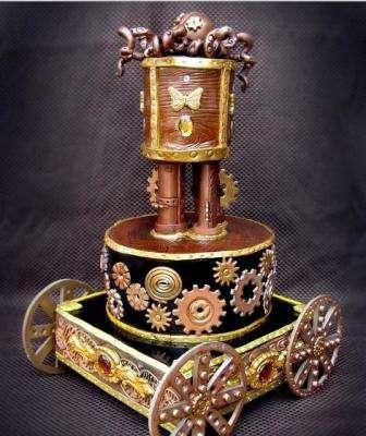 Edible Steampunk Art