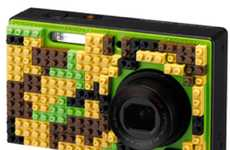 Lego-Like Cameras - The Pentax Optio NB1000 is a Playful New Point-and-Shoot