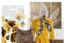 Competitive Virtual Styling - Polyvore and Yves Saint Laurent Create an Online Dressing Room