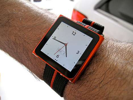 MP3 Timepieces - The iPod Nano Watch Fits Perfectly on Your Wrist