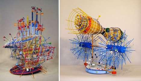 Tinker Toy Sculptures