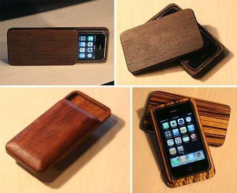 16 Wooden Apple Protectors