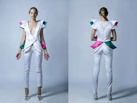 Constellation Couture - The Ana Ljubinkovic Spring/Summer 'Galaxy' Collection