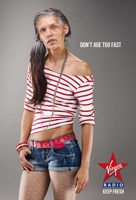 Aged Youth Advertorials - Virgin Radio Reminds You to Keep Your Music Choices Fresh