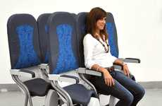 Saddle Sky Seating - The SkyRider Airplane Seat Makes for Cramped Comfort On Board