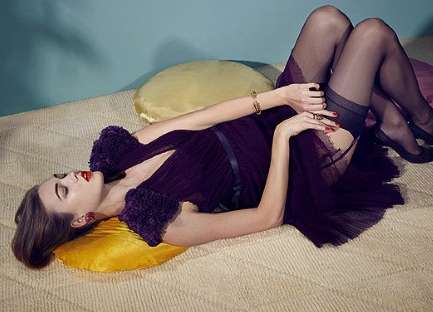 Retro Seductress Shoots - The Hot Karlie Kloss 'Powers of Seduction: The Spirit of Mad Men' Spread
