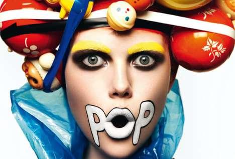 Comic-Inspired Makeup