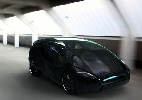 Transformable Luxury Cars - The Volkswagen Inside Can be a One or Four-Seater & More