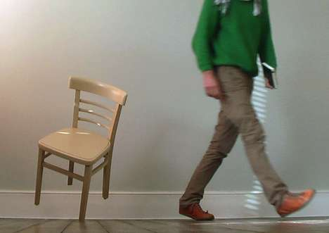 Unbelievable Balancing Furniture - Pascal Anson Turns an Ordinary Chair into Something Extraordinary