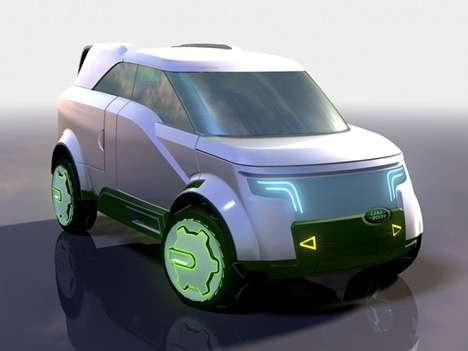 Luxury Eco SUVs - The Land Rover LRV+ is the Green Solution for Sport Utility Vehicles