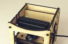 Dimension-Breaking Devices - Makerbot Cyclops 3D Scanner Digitizes 3D Objects