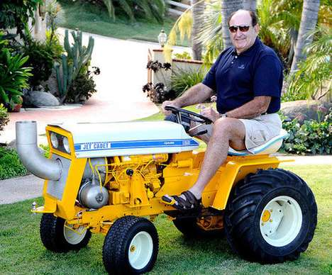 Jet-Powered Lawn Mowers