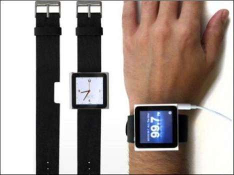 Leather MP3 Watches