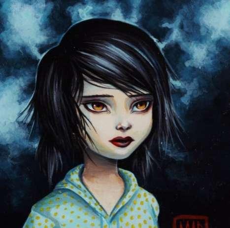 Somber Child Portraits
