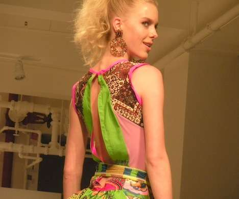 The JoAnn Berman Spring 2011 Collection is a Kaleidoscope of Color
