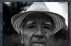 Elderly Close-Ups - Worldwide Black and White Portraits by Charles Valantin