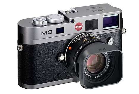The Leica Limited Edition M9 Comes in Ostrich Leather