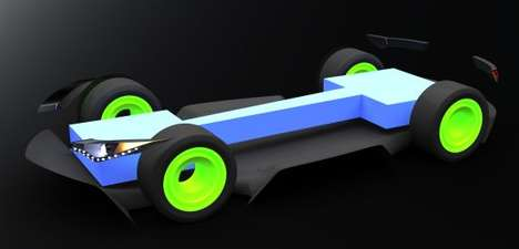 Space Age Eco Cars