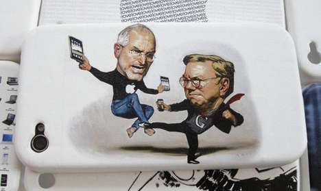 Caricature Phone Protectors