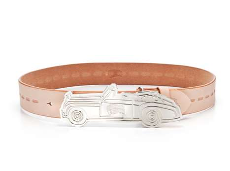 Exotic Car Belt Buckles