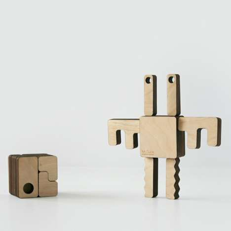 Playful Monster Boxes - Mr Cube by Hector Serrano Lets you Create Fun Creatures