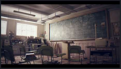 Realistically Animated Shorts - Classroom by Studio Aiko Could be a Film from the Future
