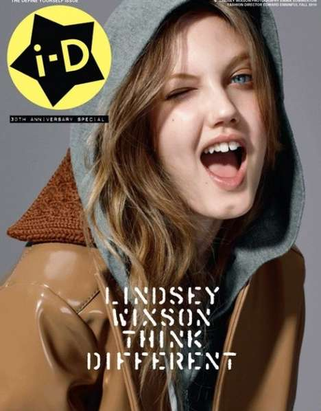 Collectible Catwalker Covers - The i-D Magazine 'Define Yourself' Covers Show Personality