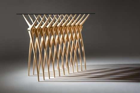 Bony-Ribbed Furniture