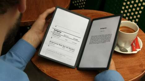 Two Page E-Readers