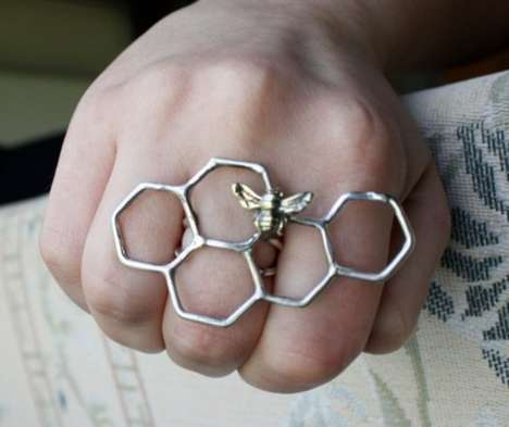 Honeycomb Brass Knuckles