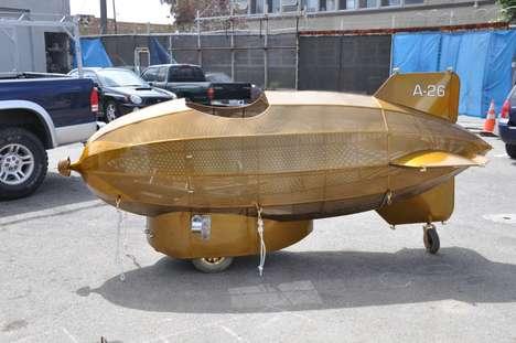 Gilded DIY Aircrafts
