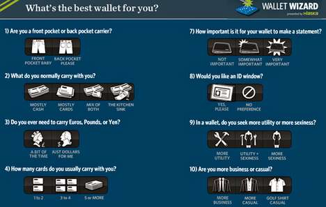 The Hlaska 'Wallet Wizard' Chooses the Best Wallet for You