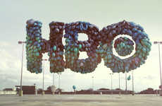 Fascinating Feathered Logos - The Umeric HBO 'Unexpected' Campaign is Peculiar