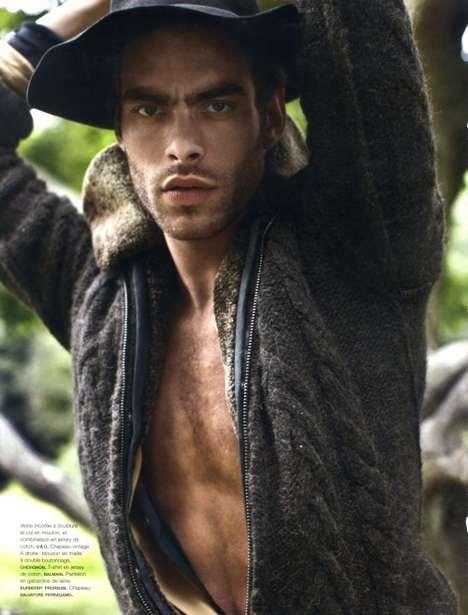 Rugged Forest Fashion