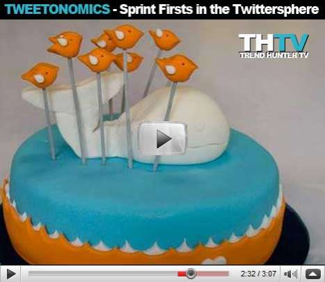 Tweetonomics - Sprint Firsts in the Twittersphere