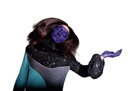 Glitter Face Masks