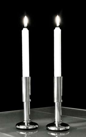 Industrial-Grade Candlesticks