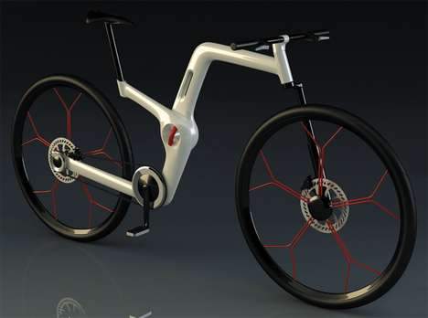 Fold-Out Two-Wheelers - The 'UFold' Bike Makes for a Convenient Riding Experience