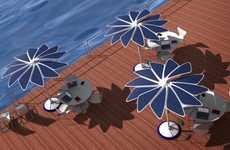 Solar-Powered Umbrellas