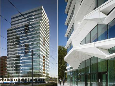 Aluminum-Lipped Architecture