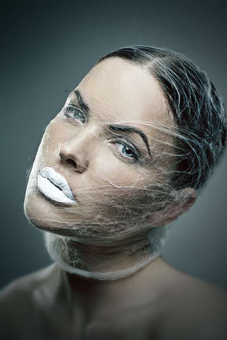 Web-Wrapped Faces