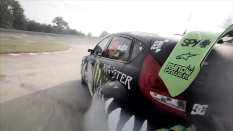 Drift King Virals - Ken Block Gets Back on Track With 'Gymkhana III'