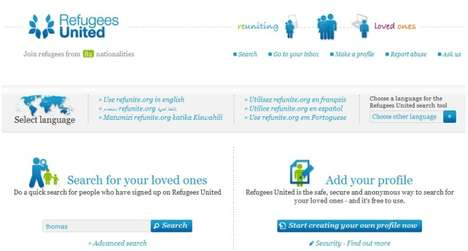 Social Networks for Refugees