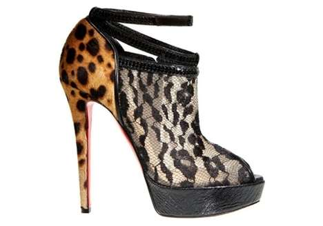 Fierce Animal Print Heels