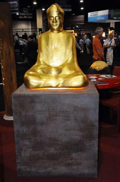 23K Gold Speakers